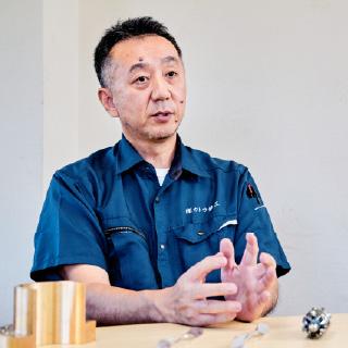 写真:代表取締役 加藤 勝巳